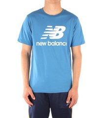 t-shirt korte mouw new balance mt01575mak
