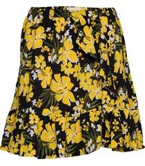 bold bliss skrt kort kjol gul michael kors