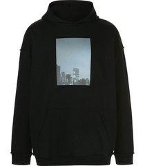 city palm photographic hoodie