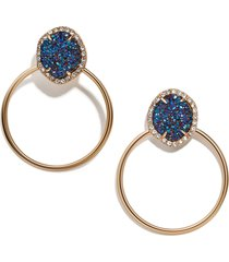 women's baublebar lutana hoop earrings