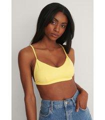 trendyol bikiniöverdel - yellow