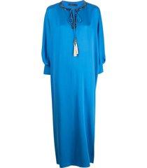 max mara bead-embellished long-sleeve dress