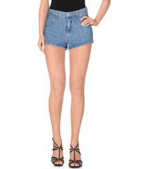 au jour le jour denim shorts
