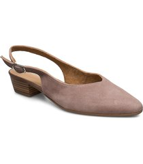woms sling back shoes heels pumps sling backs beige tamaris
