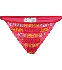 string bikini bikinitrosa rosa tommy hilfiger