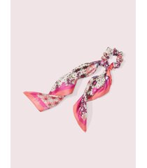 kate spade new york pacific petals silk convertible hair tie & bandana