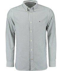 overhemd oxford grijs