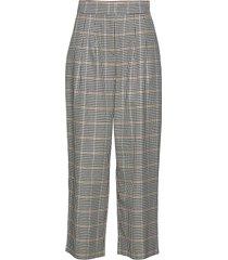 holmes wide trousers byxa med raka ben multi/mönstrad just female