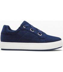 sneaker con plateau (blu) - bodyflirt