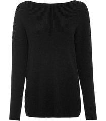 maglione con scollo sulla schiena (nero) - rainbow
