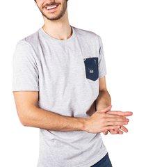 camiseta bolsillo estampado ref. 107060519