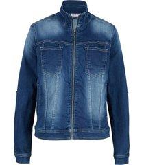 giacca di jeans ultra morbida (blu) - john baner jeanswear