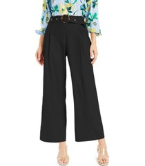 inc plus size belted wide-leg pants, created for macy's