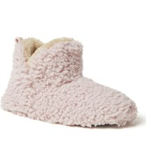 dearfoams women's cheslea bootie slippers