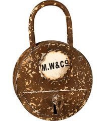 porta-chaves de metal decorativo key