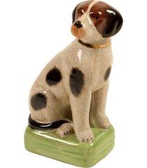 escultura decorativa de porcelana cachorro bob