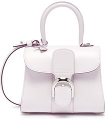 'brilliant mini' leather satchel