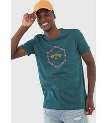 camiseta billabong access vi verde - verde - masculino - dafiti