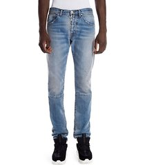 dirty repair skinny jeans