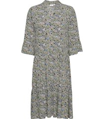 edasz dress knälång klänning grön saint tropez