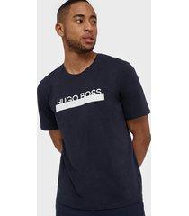 boss identity t-shirt rn t-shirts & linnen dark blue