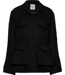 avignon zomerjas dunne jas zwart totême