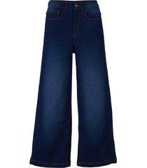 jeans culotte elasticizzati modellanti (blu) - john baner jeanswear