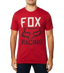 fox men's established premium logo t-shirt