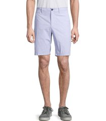 original penguin men's striped cotton-blend shorts - surf - size 32
