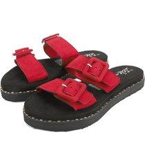 sandalia dama rojo tellenzi 403