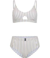 bikini a bustier (set 2 pezzi) (marrone) - bodyflirt
