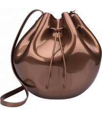 cartera sac bag casual cobre melissa