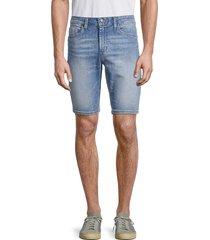 buffalo david bitton men's parker-x denim shorts - indigo - size 38