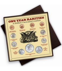 american coin treasures one year rarities eleven coin display boxed set