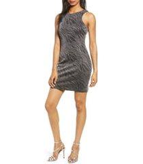 women's speechless shimmer sheath dress