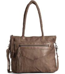 day & mood etty leather satchel