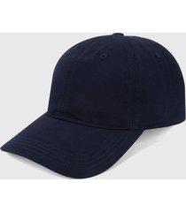 gorra azul navy lacoste