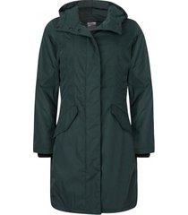 happyrainydays regenjas twill padded coat glasgow green-m