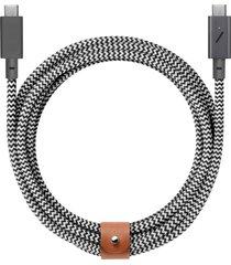 native union belt pro usb-c to usb-c charging cable, size one size - black