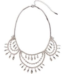 grace kelly collection rhodium plated the cat necklace
