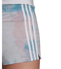 adidas women's tie-dyed shorts
