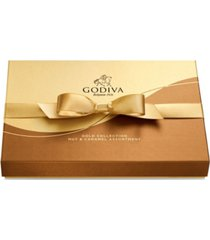 godiva chocolatier 19-pc. nuts & caramel gift box