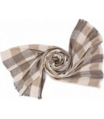 glitzhome scarf with fringes