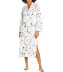 women's masongrey kimmy robe, size small - white