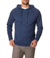 men's rodd & gunn oak st hoodie, size medium - blue