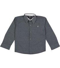 camisa gris biffa's vancouver