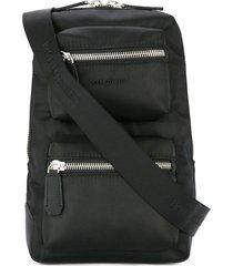 cerruti 1881 single strap backpack - black