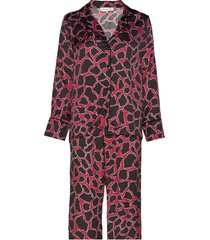 edie evening set pyjama rood by malina