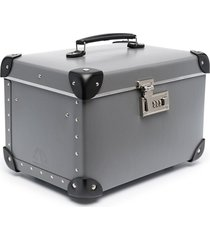 "10 corso como x globe trotter 13"" structured beauty case - grey"
