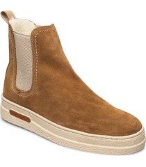 breonna chelsea shoes chelsea boots beige gant